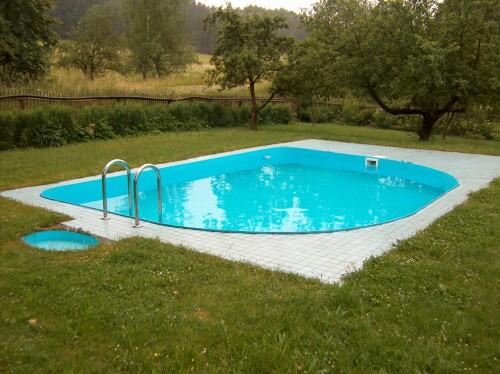 bazén apartmánů Waldex